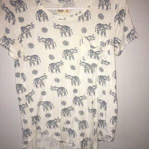 Elephant pocket tee